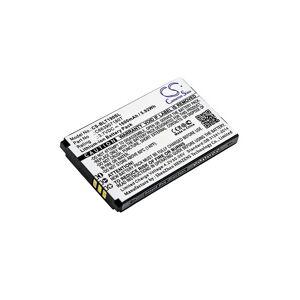Blu Batteri (1600 mAh, Sort) passende til Blu Tank