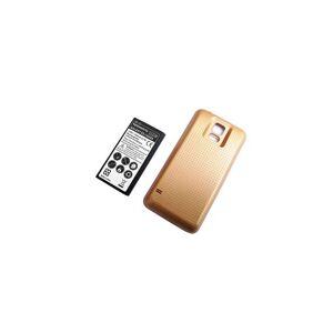 Samsung Batteri (6500 mAh, Metallisk gull) passende for Samsung SM-G860P Galaxy S5 Sport