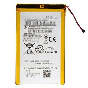 24hshop Mobilbatteri FC40 2315mAh Motorola Moto G 3rd