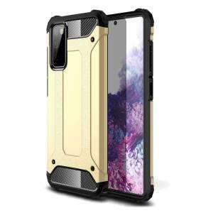 INCOVER Samsung Galaxy S20 Fe / S20 Fe (5g) Armor Guard Deksel - Gull