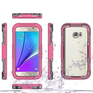 Samsung Galaxy S7 Vanntett Deksel - Rosa