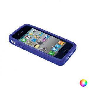 Apple Mobilhölje Iphone 4 / 4s / 5 / 5s / se Silikon 143964 - Färg: Blå