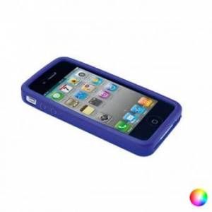 Apple Mobilhölje Iphone 4 / 4s / 5 / 5s / se Silikon 143964 - Färg: Röd