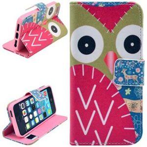 Apple Stand Short Purse Case 5 / 5S / SE Owl