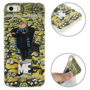 Apple Minions TPU Cover iPhone 5 / 5S / SE - Me