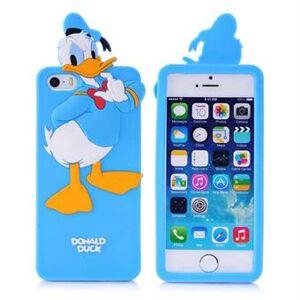 Apple 3D-silikon Donald Duck Cover - 5 / 5S / SE