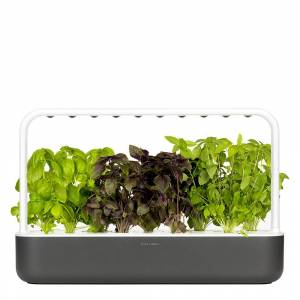 Click and Grow Smart Garden 9 Startkit Mörkgrå