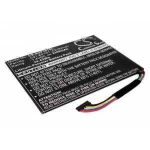 Asus Eee Pad Transformer TF101-X1 Batteri till Mobil 7,4 Volt 3300 mAh