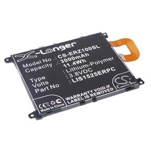 Sony Xperia Z1 Batteri till Mobil 3.8V 3000 mAh Kompatibel