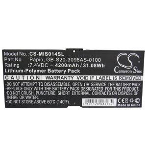 GB-S20-3096AS-0100 Batteri till Mobil 7,4 Volt 4200 mAh Kompatibel
