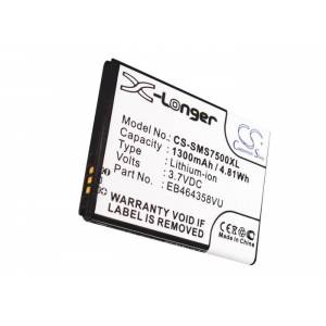 Samsung SCH-i579 Batteri till Mobil 3,7 Volt 1300 mAh Kompatibel
