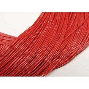 24AWG Silikonkabel - 1 meter Röd