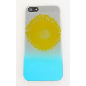udgår Solsikke cover med gul and light blå iPhone 4/4s