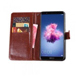 Huawei P Smart flip cover - Brun