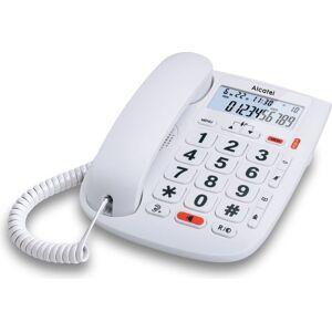 Alcatel T Max 20 - Fastnet Telefon Til ældre - Hvid