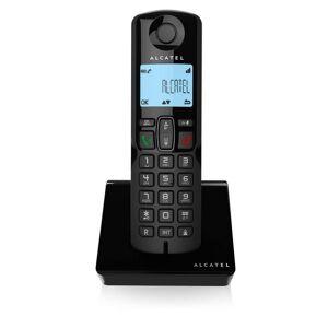 Alcatel - Trådløs Fastnet Telefon - S250 - Sort