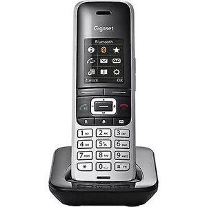 Siemens Gigaset S850 HX DECT telefon Platinum, Black