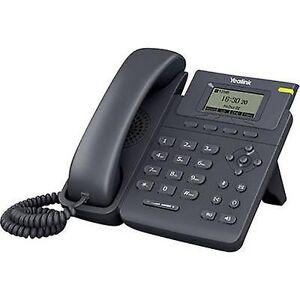 Yealink SIP-T19P med ledning VoIP handsfree, hodesett tilkobling farge TFT/LCD svart