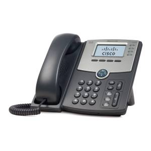 Cisco Systems SPA504G Cisco Small Business SPA 504, VOIP-telefon, svart/grå