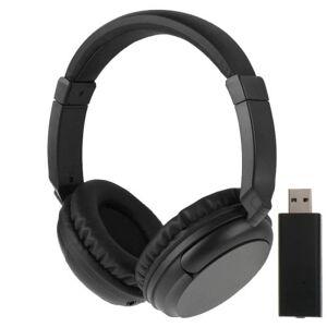 24hshop Langattomat Hi-Fi stereokuulokkeet - FM + Äänenvoimakkuuden säädin