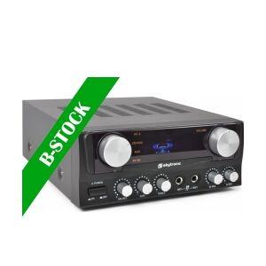 "Karaoke Amplifier with Display Blk ""B-STOCK"" TILBUD NU"