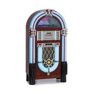 Auna Graceland DAB -jukebox BT CD vinyyli DAB+/FM USB SD AUX-in LED-valo