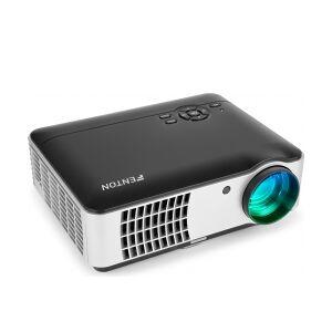 Fenton HD-PRO Projektor med Flot HD billedekvalitet, kraftig 2800 Lumens l lumen