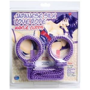 Japanese Silk Love Rope - Ankle/Arm Cuffs