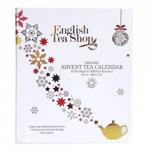 English Teashop Advent Tea Calendar Eko Vit