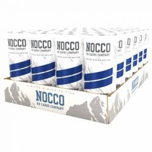 NOCCO 24 x NOCCO BCAA, 330 ml, Blueberry - it´s always winter somewhere