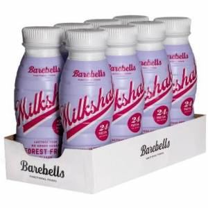 Barebells 8 x Barebells Milkshake Forest Fruit, 330 ml