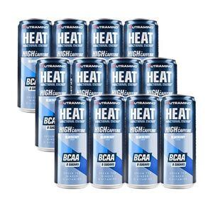 Nutramino 24 x Nutramino HEAT BCAA, 330 ml, Blueberry