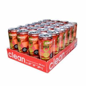 CleanDrink 24 x Clean Drink, 330 ml, Cactus/lime Mitkus Edition
