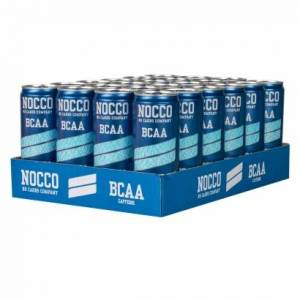 NOCCO 24 x NOCCO BCAA, 330 ml, Ice Soda