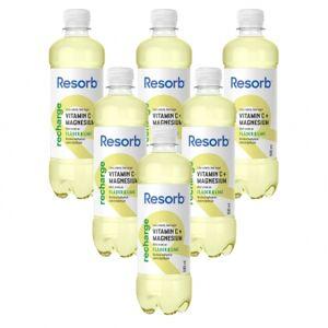 Resorb 6 x Resorb Recharge, 500 ml, Fläder Lime