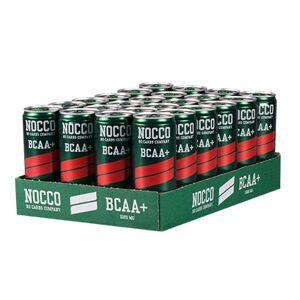 NOCCO 24 x NOCCO BCAA +, 330 ml, Hallon/Citron