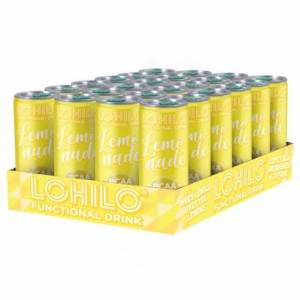 Lohilo 24 x Lohilo Functional BCAA Drink, 330 ml, Lemonade