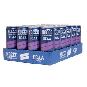 NOCCO 24 x NOCCO BCAA, 330 ml, Cassis