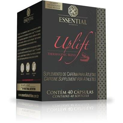 UpLift 40 Cáps - Essential Nutrition - Unissex-Sem Sabor