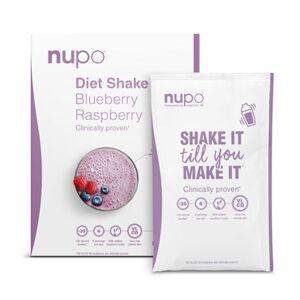 Nupo Diet Shake Blueberry 12 breve