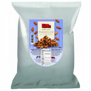 Sprøde Saltede Mandler 750 g Nødder