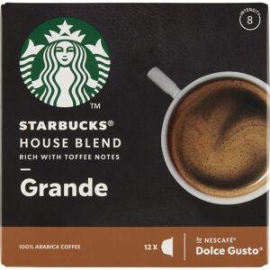 Starbucks Dolce Gusto House Blend Grande 12 stk Kaffekapsler