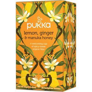 Lemon, Ginger & Manuka Honey Tea Øko 20 breve The