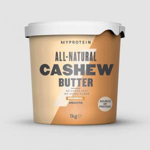 Myprotein Naturlig Cashewsmør - 1kg - Original - Smooth