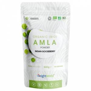 Økologisk Amlapulver, 500g - Superfood-tilskud til immunforsvar