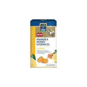 Manuka Health New Zealand Ltd MGO 400+ Manuka Honey Lozenges with Lemon - 15 Lozenges