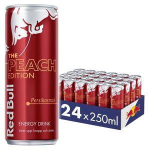Red Bull 12x Red Bull Energy Drink, 250 Ml, Peach Edition