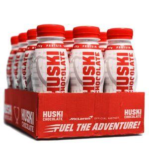 Huski Chocolate 12 X Huski Chocolate Protein, 250 Ml