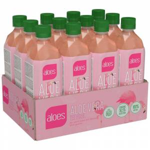 Pro Brands 12 X Aloes Aloe Vera, 500 Ml