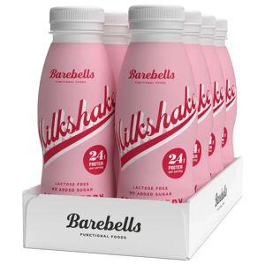 Barebells 8 X Barebells Milkshake, 330 Ml, Strawberry